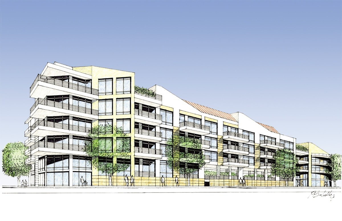Residential Buildings Perspective 2